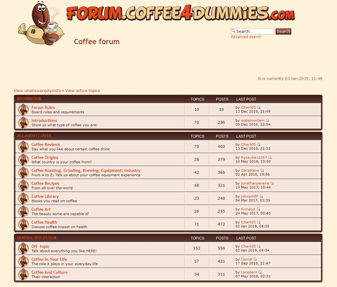 forum.coffee4dummies.com